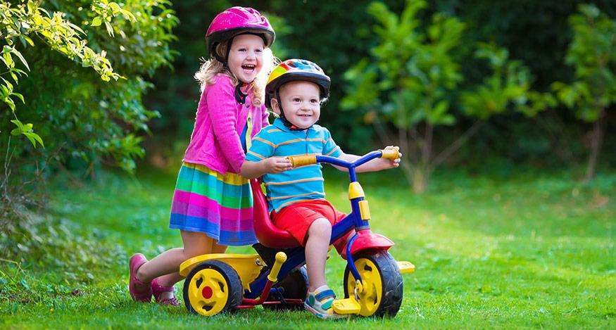 Första pedaltagen – gör det rätt